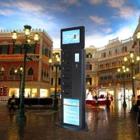 Fast Charge Multi Cell Phone Charging Stations With Secure Locker For Restaurant Hotel