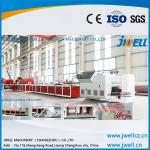 Low noice & high capacity specialized wall panel extrusion line/extruder machinery