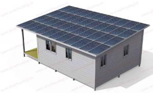 China EU/USA/NZ/Australia Standard Light Steel Frame Modern Moveable Foldable House / Blue Steel Frame Prefab Granny Flat on sale