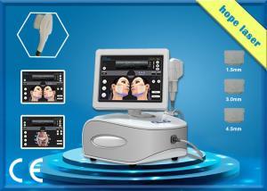 China High intensity focused ultrasound HIFU beauty machine face / body slimming on sale