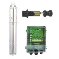24V DC Deep Well Submersible Screw Pump , Solar Powered Water Pump For Irrigation