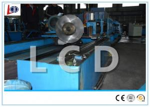 China Full Automatic Steel Tube Production Line , Welded Tube Mill Line Steel Structure on sale