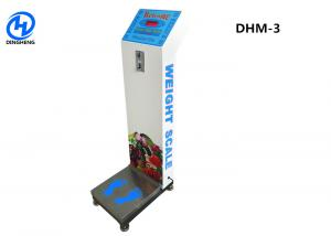 China coin operated weighing scales with LED Dislay and voice broadcast on sale