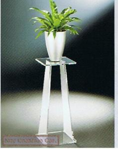 China 4.25 Clear Acrylic Vase Stand , Vase Pedestal Modern Furniture on sale