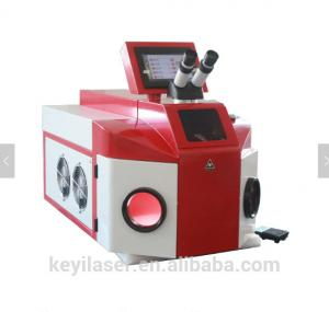 China Advertising Industry Jewelry Laser Welding Machine Red Color Stable Performance on sale