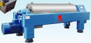 China Inlet Capacity 5~18m 3/h Horizontal Decanter Centrifuges Used for PVC Sludge supplier
