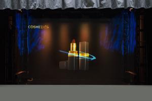 Musion 3D Image Projection Hologram , 3D Hologram Projector Foil 97