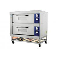 China Stainless Steel Electric Baking Ovens With Movable Rack / Independent Chambers and Adjustable Temperature on sale