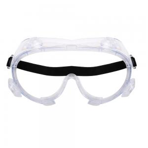 China Safety Protective Medical Safety Goggles Eyewear Anti Fog Pvc Enclosed Protection on sale