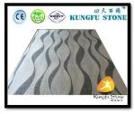 Xiamen Kungfu Stone Ltd supply Wave Grey White Marble Mosaic In High quality and cheap price