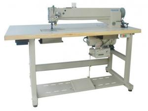 China Long Arm Compound Feed Heavy Duty Lockstitch Sewing Machine FX4620 on sale