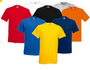 China Custom Printing Logo Man Blank Cotton T-Shirts Wholesale In China Factory on sale