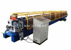 China Galvanized Steel Down Spout Roll Forming Machine PPGI/ GI Material on sale