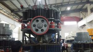 China Liner Spring Stone Cone Crusher Machine Medium Fine For Quarry / Construction on sale