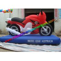 Customized Advertising Inflatables Motorcycle Replica , Inflatable Motorbike Model