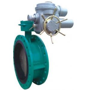 China Electric Flanged Butterfly Valves DN450 With Motor 230V 50Hz on sale