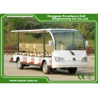 EXCAR white 14 Seater 72V electric sightseeing bus electric car china tour bus for sale