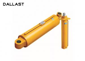 China Double Acting Chrome Welded 2 Earring Crane Hydraulic Lift Cylinder on sale