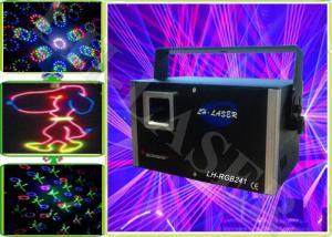 China Party 2 Watt Graphics Firewok RGB Laser Lights Projector , 50HZ / 60HZ on sale