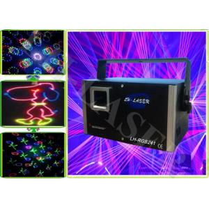 China Party 2 Watt Graphics Firewok RGB Laser Lights Projector , 50HZ / 60HZ on sale