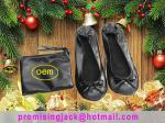 Very Comfortable and Easy to Store in a Purse Foldable Ballet Shoe for Christmas New Promotion Gift