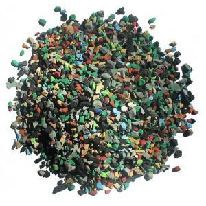 China Skid Proof Artificial Grass Rubber Granules Multi Colors For Training Places on sale