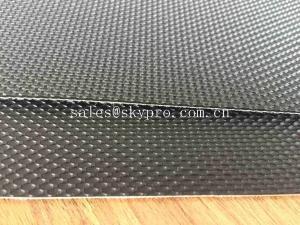 China Industrial Diamond / Golf Pattern PVC Conveyor Belt Treadmill Conveyor Belt Antistatic on sale