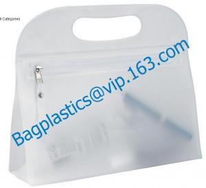 China clear cosmetic bag pvc,promotional cosmetic bag personalized,pvc cosmetic bag personalized on sale