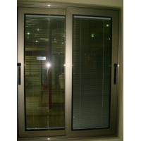 China Aluminum Windows / Thermal Aluminum Blind Sliding Window