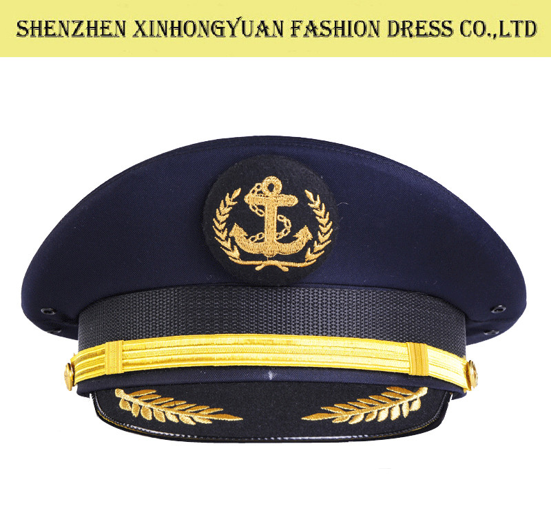 cd222ff3e41 Men Peaked Military Uniform Hats With Logo Printing Police Uniform Cap for  sale – Military Hats And Caps manufacturer from china (104104047).