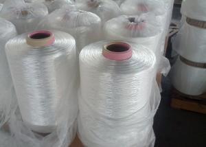 China Regular Shrinkage High Tenacity Polyester Yarn 2000D Raw White Used For Webbing on sale