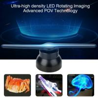 Indoor Holographic Creative LED Screen 3D Advertising Player Naked Eyes Hologram Fan