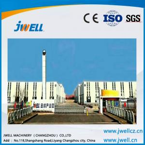 China Jwell  PE WPC excellent antisepsis profile extrusion line on sale