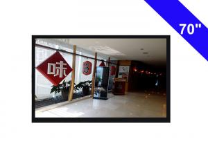 China IR Remote Control CCTV LCD Monitor Screen 56HZ - 75HZ Secam Color System on sale