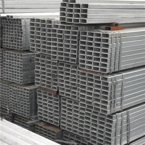 China Ms Erw Black square Hollow Section Steel Pipe/tubes on sale
