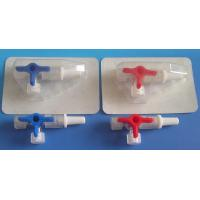 Disposable Medical Injection Supplies Three Way Stopcock With Extension Tube