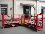 90度の赤い鋼鉄ロープは建物のクリーニングのためのプラットホームCardleを中断した