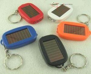 China 5.5 V 300-550mABrief Function LED solar power flashlight on sale