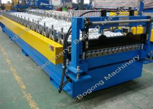 China Iron Corrugated Sheet Making Machine Anti - Rust High Precision Performance on sale