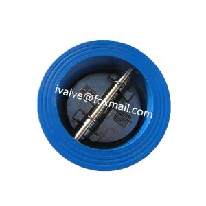 China Dual Plate Wafer Type Check Valve on sale
