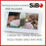 Model Q896 Inwall Flush Mount Android Tablet With Serial Port