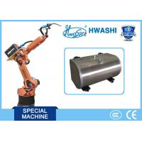China HWASHI 6 Axis Mig Tig Welding Robotic Arm for  Aluminum Fuel Tank on sale