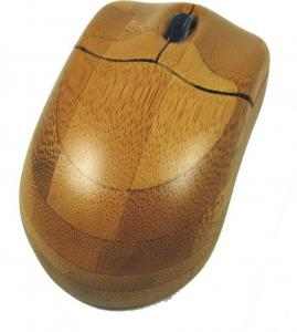 China wood optical wireless computer mouse on sale