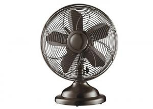 China 12 Inch Vintage Electric Fan With Switch Control 3 Aluminium Blade 60Hz on sale