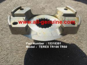 China TEREX 15318391 YOKE NHL DUMP TRUCK  TR50 TR60 TR100 TR70 on sale
