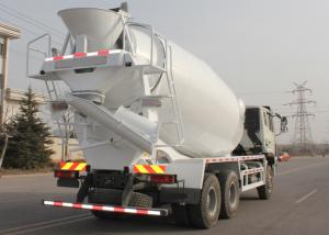 China mobile Concrete Mixer Truck with pump , 10 CBM Trailer Concrete Mixer on sale
