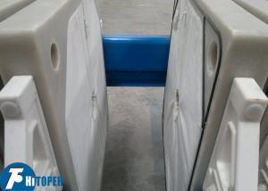 China 100 Square Meter Membrane Filter Press 4.0kw 0.6Mpa Filtrating Pressure on sale