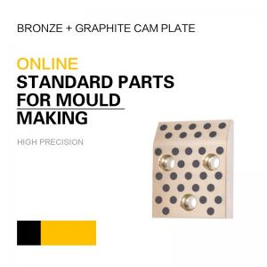China Mould DME Standard Elements Bronze Graphite Cam Plate For Injection & Die Casting Moulds on sale