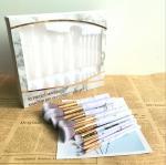 Marble Cosmetic brush Set, Marble Makeup Brush Collection Set, New 10 Pcs Set