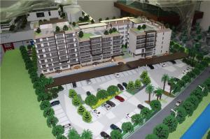 China With car parking scale model maker , residential real estate project from Tailand on sale